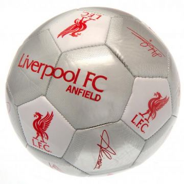 Liverpool FC Football with Signatures SV